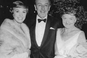 Julie Andrews, Walt Disney, and P.L. Travers