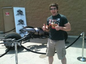 Me and the Batpod