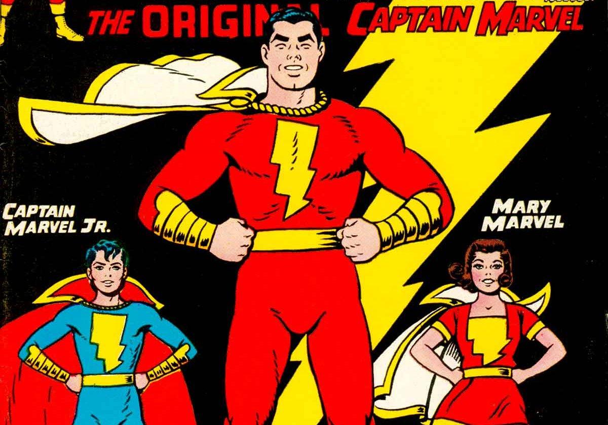 comic book bios: captain marvel/shazam | the credible hulk