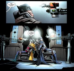 Batman (Dick Grayson) & Robin (Damian Wayne)
