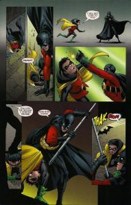 Robin (Damian Wayne) vs Red Robin (Tim Drake)