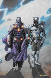 Professor X and Cable as Onslaught and Stryfe