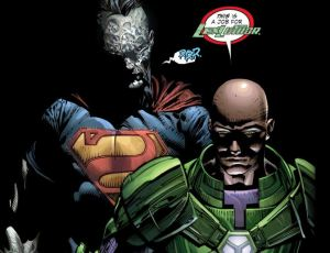 Forever Evil #2, Lex Luthor and Bizarro