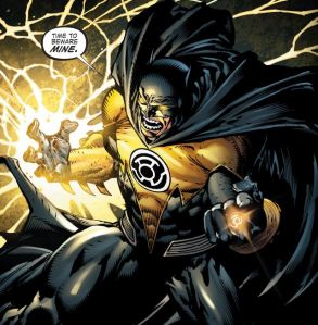 Forever Evil #4, Batman Wearing a Yellow Ring