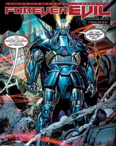 Forever Evil #7, The Anti-Monitor