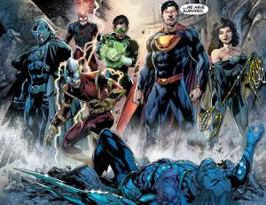 Justice League #23 Finale - The Crime Syndicate