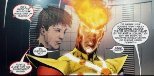 Brightest Day #10 - Firestorm - Jason Rusch and Ronnie Raymond