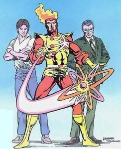Ronnie Raymond, Firestorm, and Professor Stein