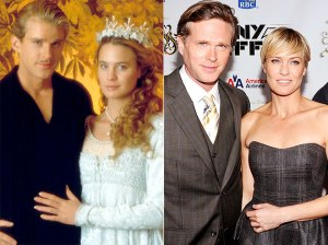 Robin Wright and Carey Elwes